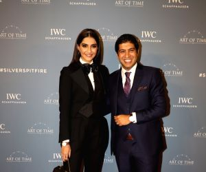 Sonam Kapoor at the launch of new watch collection