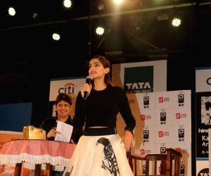 Sonam Kapoor attends Kala Ghoda Arts Festival 2016