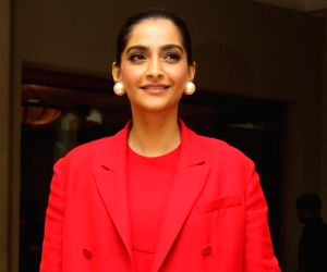 Sonam Kapoor shows excitement while watching The Mandalorian on her laptop