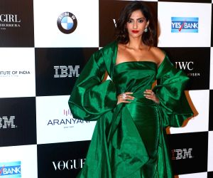 "Vogue Women Of The Year"" 2017- Sonam Kapoor"