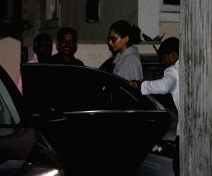 Sonam Kapoor seen at a spa