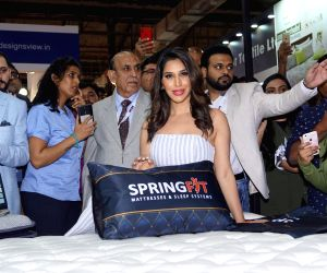 Sophie Choudry at a launch of mattress collection
