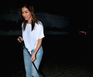 Sophie Chowdhary seen at Mumbai's Bandra