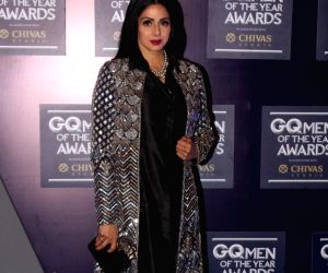 "GQ Men Of The Year Awards"" 2017- Sridevi"