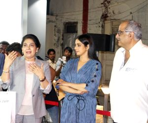 Sridevi at the launch of  iPhone 8