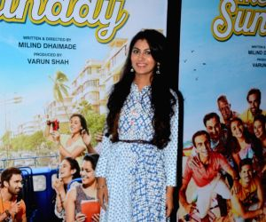 Promotions of the film 'Tu Hai Mera Sunday' - Sriti Jha