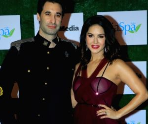 Sunny Leone and her hubby