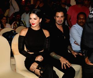 Sunny Leone during the launch of Manforce special calendar