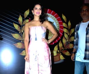 Launch of 4th Bright Award Trophy - Sunny Leone