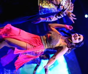 "Sunny Leone performs during ""Star Night Live 2016"