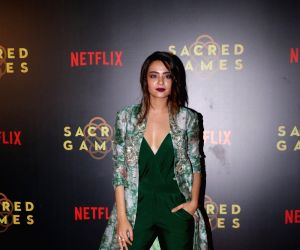 """Special screening of """"Sacred Games"""" - Surveen Chawla"""