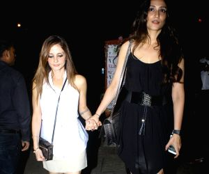 Sussanne Khan spotted at Bandra