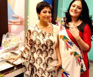 Swastika Mukherjee and Agnimitra Paul during programme