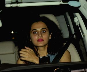 "Special screening of film ""October"" - Taapsee Pannu"