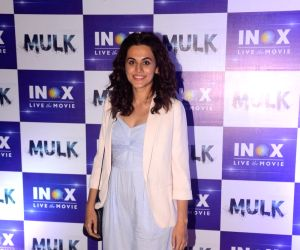 Taapsee Pannu during a programme