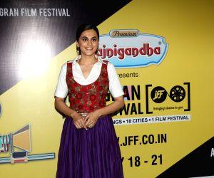 Actress Taapsee Pannu. (Photo: Amlan Paliwal/IANS)