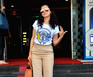 Taapsee Pannu seen at Andheri