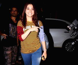 Tamannaah Bhatia spotted at airport