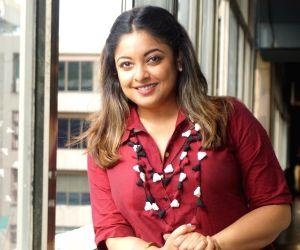 Tanushree Dutta during an interview