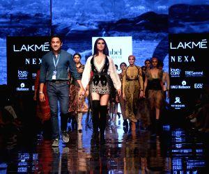 Lakme Fashion Week Winter/Festive 2019 - Tara Sutaria walks for Nachiket Barve
