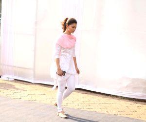 Sridevi's funeral - Urvashi Rautela