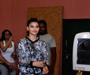 Urvashi Rautela at Roller Skating and Hoola Hoop event