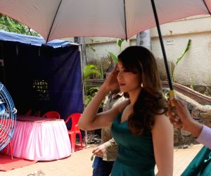On location - Urvashi Rautela