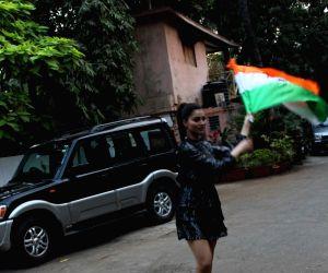 Urvashi Rautela celebrations Republic Day