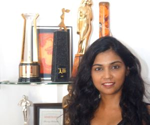 Usha Jadhav during a interview