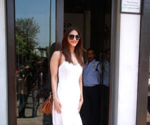Vaani Kapoor seen at a restaurant