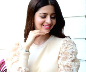 Vedhika during a interview