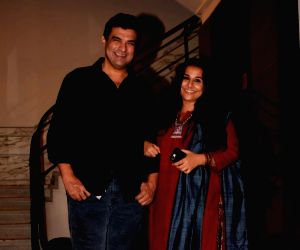 "Pre-release party of film ""Karwaan"" - Vidya Balan and Siddharth Roy Kapur"