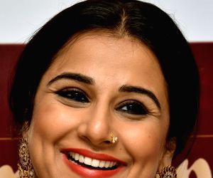 Vidya Balan during a promotional programme