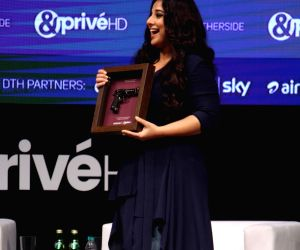Launch of new channel '& Prive HD' - Vidya Balan