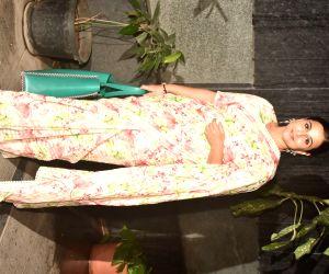 Vidya Balan seen at Bandra