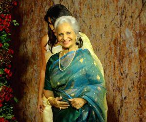 Ranveer-Deepika's wedding reception - Waheeda Rehman