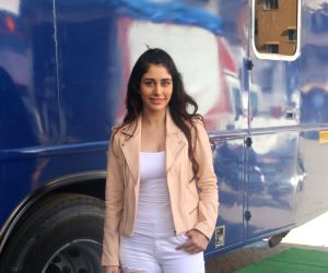 "Promotion of film ""Loveratri"" - Warina Hussain"