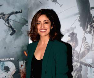 "Uri: The Surgical Strike"" promotions - Yami Gautam, Vicky Kaushal at media interactions"