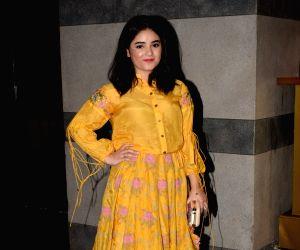 """Success party of film """"Secret Superstar"""" - Zaira Wasim"""