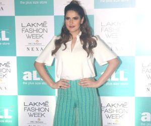 Lakme Fashion Week Plus Size Model Auditions - Zareen Khan