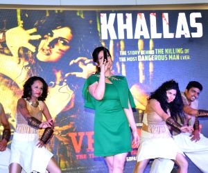 Launch of song Khallas from film Veerappan