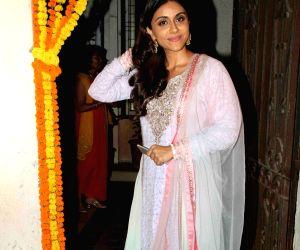 Fashion designer Masaba Gupta sangeet ceremony