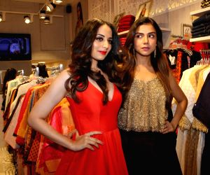 Zoya Afroz during a store launch