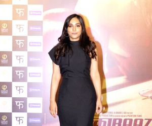 "Trailer launch of film ""Mukkabaaz"" - Zoya Hussain"