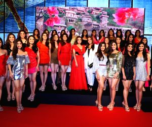Actresses Dia Mirza and Neha Dhupia during a programme with the 30 State winners of fbb Colors Femina Miss India 2019, in Mumbai, on May 26, 2019.