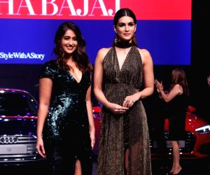"Luxury & Fashion As Hello! & Audi"" - Ileana D'Cruz and Kriti Sanon"