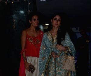 Makeup artist Mallika Bhat's Diwali bash