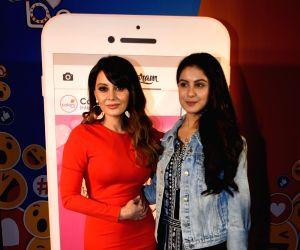 """Launch of show """"Internet Wala Love"""" - Minissha Lamba and Tunisha Sharma"""