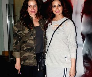 "Special screening of film ""My Birthday Song"" - Neelam Kothari and Sonali Bendre"