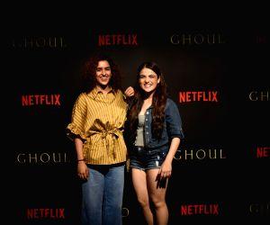 "Black carpet premiere of horror series ""Ghoul"" - Sanya Malhotra and Radhika Madan"